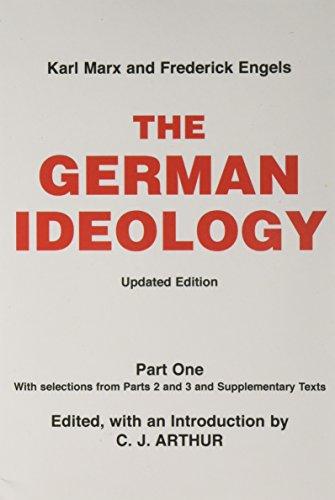 9780717807529: German Ideology