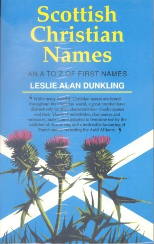 9780717942497: Scottish Christian Names: An A-Z of First Names