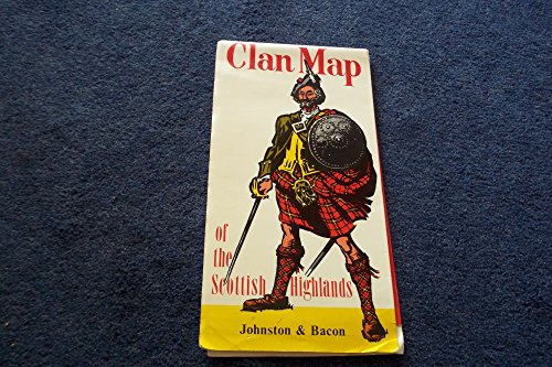 9780717945108: Clan Map of the Scottish Highlands