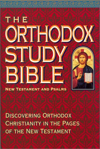 9780718000301: The Orthodox Study Bible: New Testament and Psalms