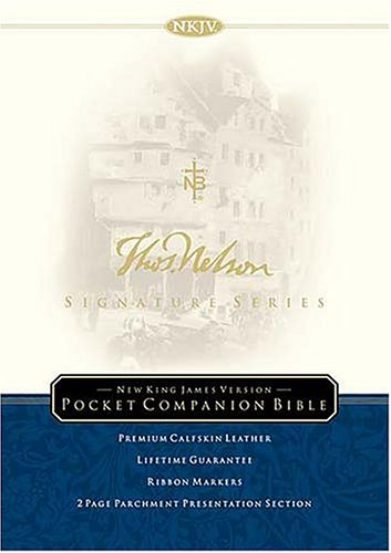 9780718000707: The Holy Bible: New King James Version, Signature Series Edition