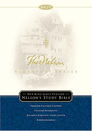 9780718000769: Signature Series Nelson Study Bible A New Standard In Excellence