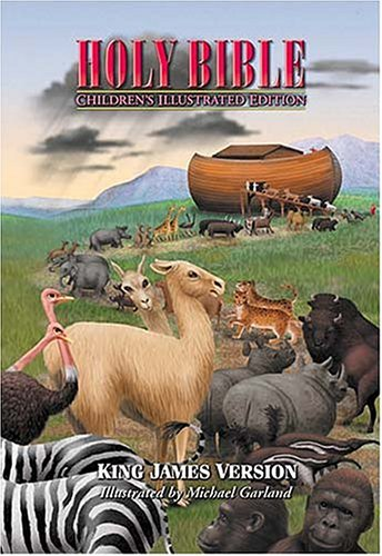 9780718000844: Holy Bible, Children's Illustrated Edition Beautiful Art To Draw Kids Into The Scriptures