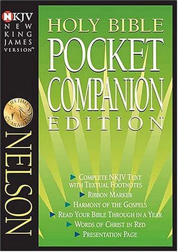 9780718001223: NKJV Pocket Companion Bible