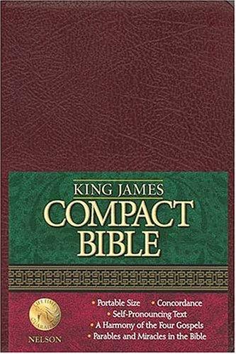 9780718001339: King James Compact Text Bible