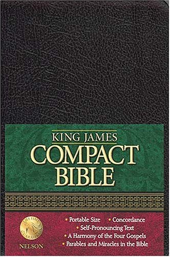9780718001346: King James Compact Text Bible