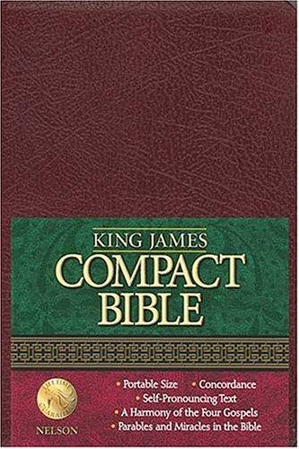 9780718001353: King James Compact Text Bible