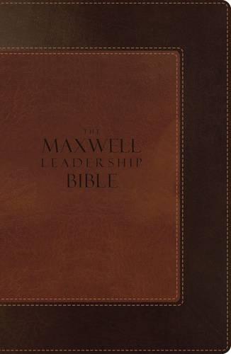 9780718001919: NIV, The Maxwell Leadership Bible, Imitation Leather, Brown/Light Brown
