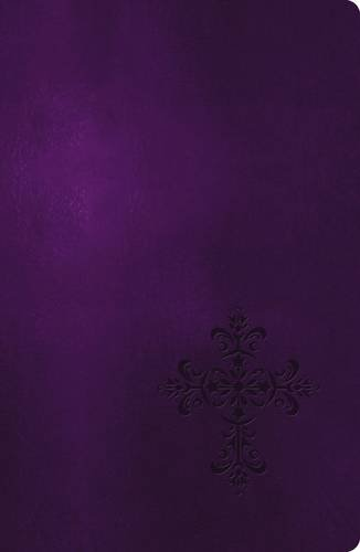 9780718001940: NKJV, End-of-Verse Reference Bible, Giant Print, Personal Size, Imitation Leather, Purple, Red Letter Edition (Essential)