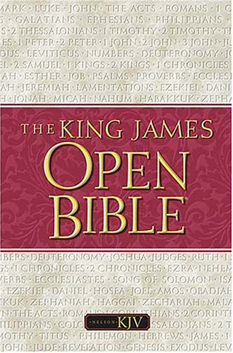 9780718002060: The King James Open Bible