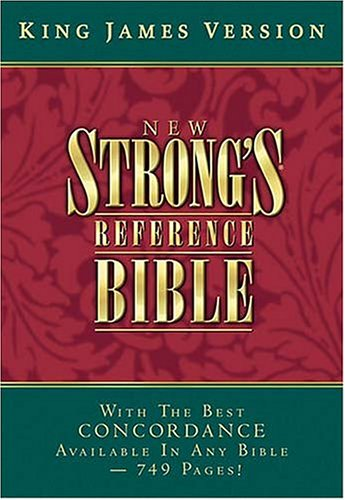 bible concordance kjv 9780718002244 kjv new strong s reference bible black 15570