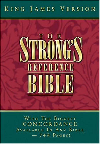 9780718002220: New Strong's Reference Bible