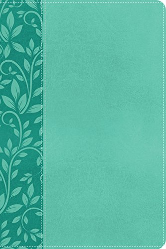 9780718002336: Holy Bible: New King James Version, Rich Turquoise Leathersoft