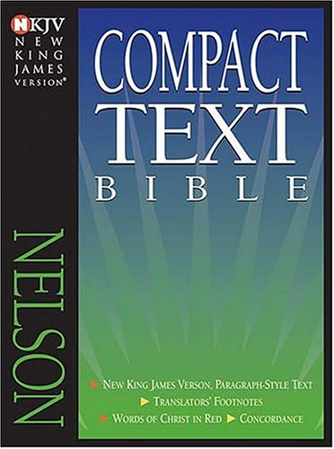 9780718002374: New King James Version Compact Text Bible