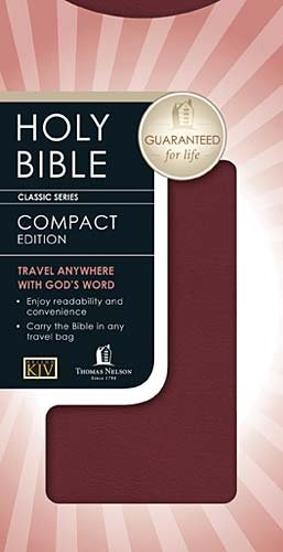 9780718003302: Holy Bible: King James Version Burgundy Bonded Leather Classic Companion Bible