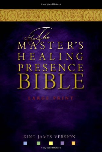 9780718003692: The Master's Healing Presence Bible KJV: Black, Bonded Leather, Gilded-Gold Page Edges