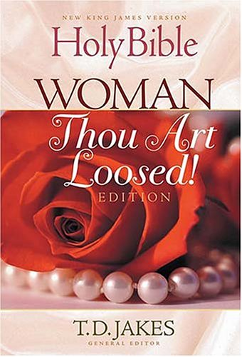 9780718003722: Holy Bible, Woman Thou Art Loosed!: New King James Version, Cranberry, Bonded Leather, Gilded Gold Page Edges