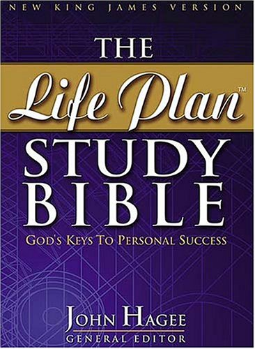 9780718006341: The Life Plan Study Bible: New King James Version Black Bonded Leather, Gilded-Gold page Edges