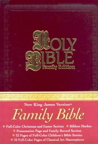9780718006549: Holy Bible (New King James Version) Family Edition