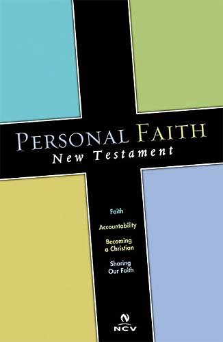 Personal Faith New Testament: New Century Version (9780718006556) by Thomas Nelson