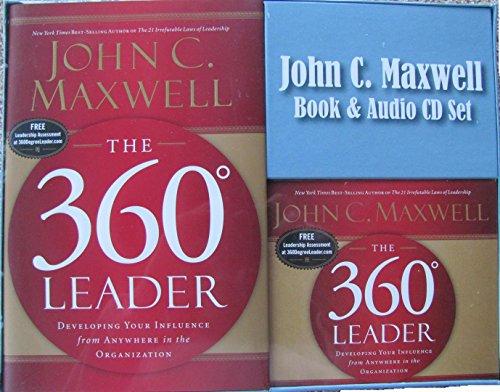 THE 360 DEGREE LEADER - BOOK & AUDIO CD SET: JOHN C. MAXWELL