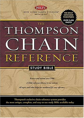 9780718008383: Thompson Chain Reference Study Bible: New King James Version