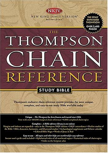 9780718008390: Thompson Chain Reference Study Bible: New King James Version, Black