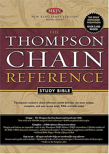 9780718008666: Holy Bible: Thompson Chain Reference, Black, Indexed