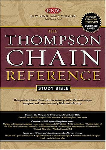 9780718008673: Holy Bible: Thompson Chain Reference, Burgundy