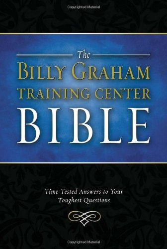 9780718008796: The Billy Graham Training Center Bible: New King James Version