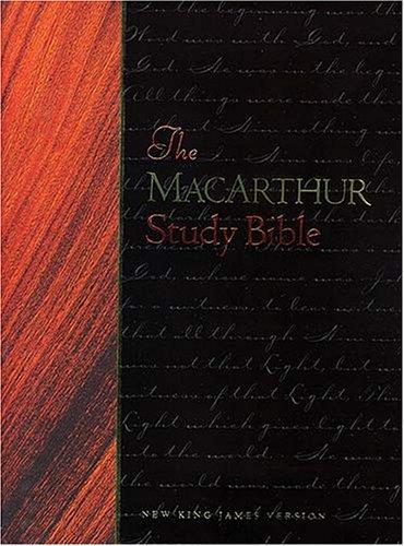 9780718009243: The MacArthur Study Bible: New King James Version