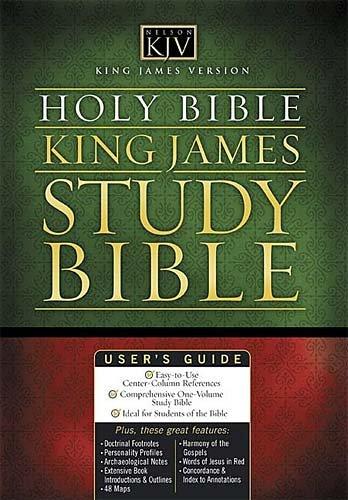 9780718009588: The King James Study Bible