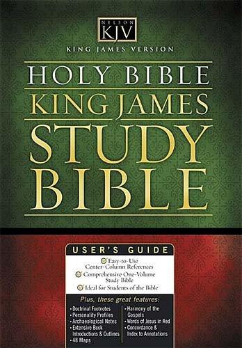 9780718009595: The King James Study Bible