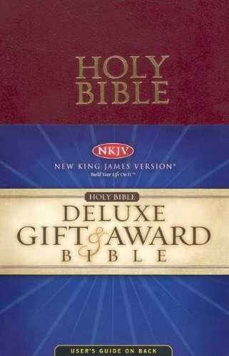 9780718010775: Holy Bible: New King James Version, Red, Leatherflex, Deluxe Gift & Award