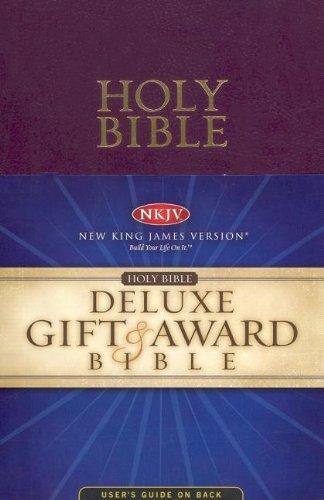 9780718010782: Holy Bible: NKJV Gift & Award, Purple