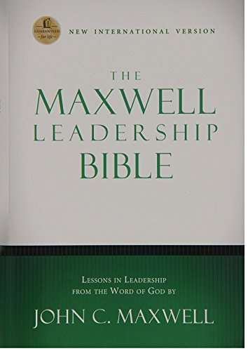 9780718011680: NIV, The Maxwell Leadership Bible, Hardcover, Brown: Briefcase Edition