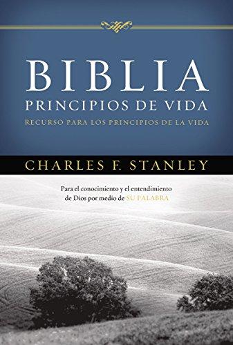 9780718011918: Biblia Principios de Vida del Dr. Charles F. Stanley-Rvr 1960
