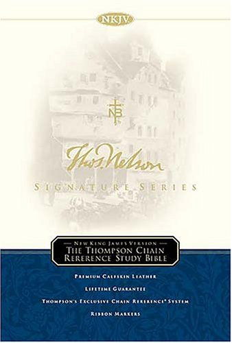 9780718012090: The Thompson Chain Reference Study Bible, Signature Series Edition