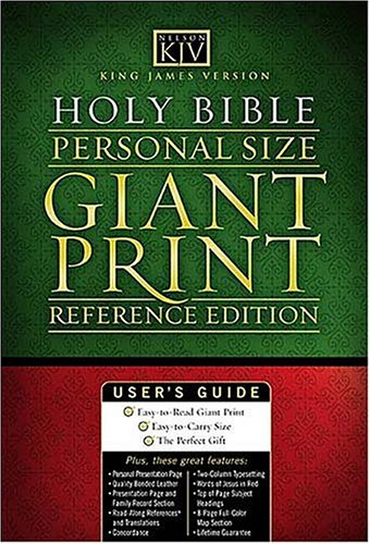 9780718012311: KJV Personal Size GP End-of-Verse Reference Bible
