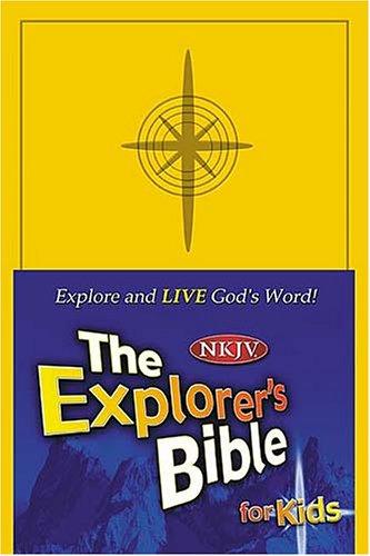 The Explorer's Bible for Kids - Imitation Leather: Thomas Nelson