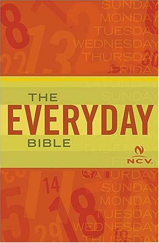NCV The Everyday Bible (Everday Bible): Thomas Nelson