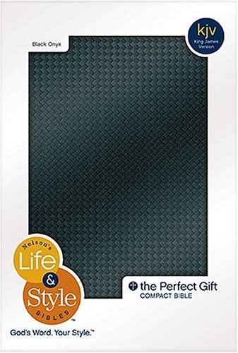 Nelson's Life & Style Compact Bible - Black Onyx (9780718012694) by KJV TRANSLATION