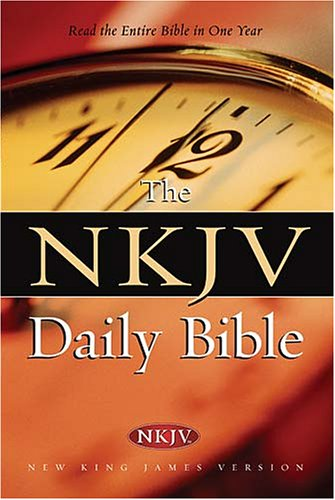 9780718013349: Daily Bible: New King James Version, Full Color