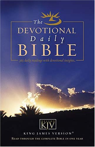 9780718013370: Devotional Daily Bible: Read Through the Complete Bible in One Year