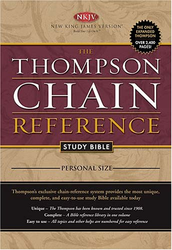 9780718013394: The Thompson Chain Reference Study Bible: New King James Version, Full Color, Personal Size