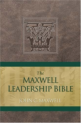 9780718013448: The Maxwell Leadership Bible: NKJ, Brown