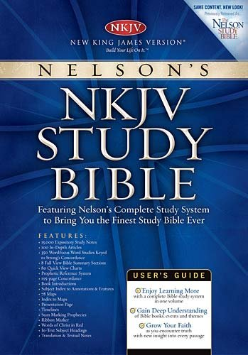 Nelson's NKJV Study Bible (0718014219) by Thomas Nelson