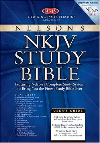 9780718014292: Nelson's NKJV Study Bible (Burgundy)