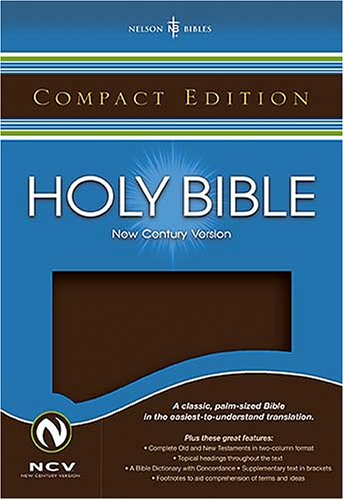 9780718014766: Compact Bible: New Century Version, Brown