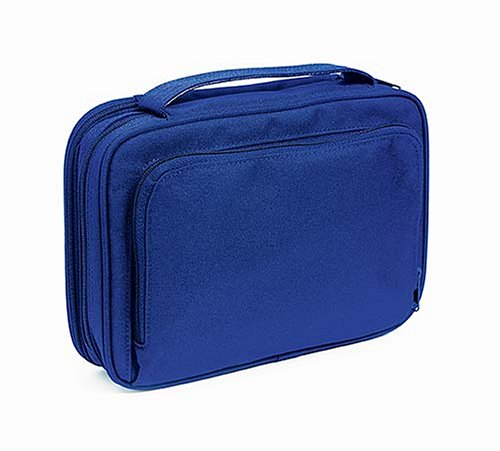 9780718015015: Essential Organizer: Nelson Deluxe Bible & Book Cover, Navy Blue Color, Canvas Shell